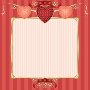 Vector Valentine Frame