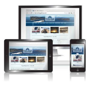 Barge Line Responsive Website