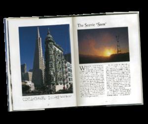 San Francisco Book Inside Spread