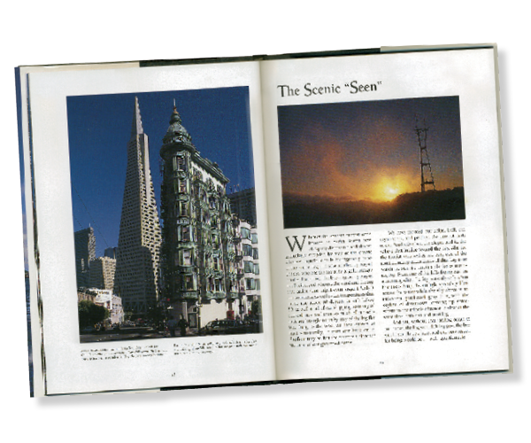 San Francisco Book Inside Spread