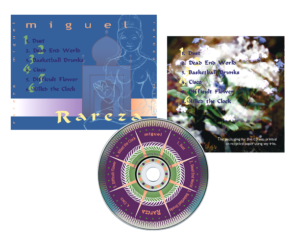 CD Packaging—Miguel
