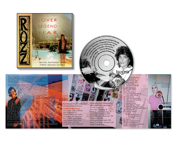 Rozz Rezabek CD Packaging