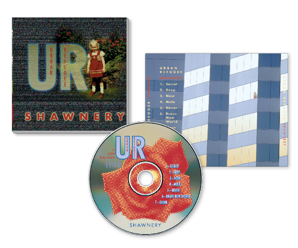 CD Packaging—Urban Refugee