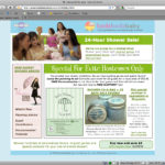 Baby Shower Landing Page
