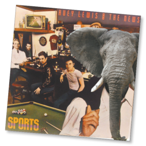 Huey Lewis and the News Elephant