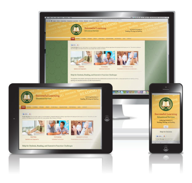 Education Company Responsive Website