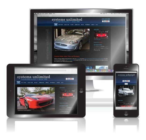 Automotive Electronics Responsive Wordpress Website