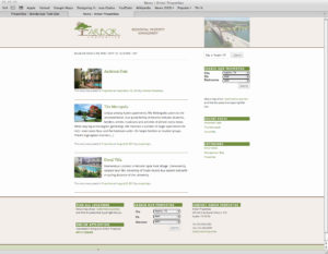 Rental Property Search Page