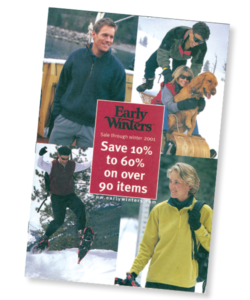 Early Winters Catalog Front Page