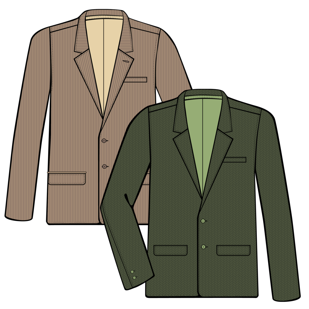 Men's Sportjacket Illustration