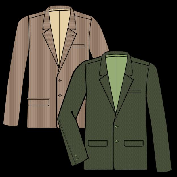 Men's Sportcoats Illustration