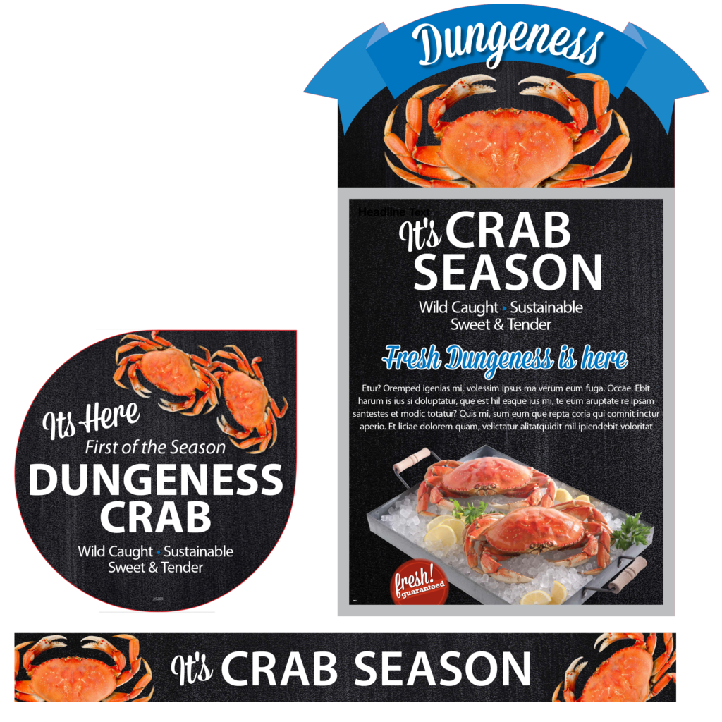 Crab Season Point-of-Purchase