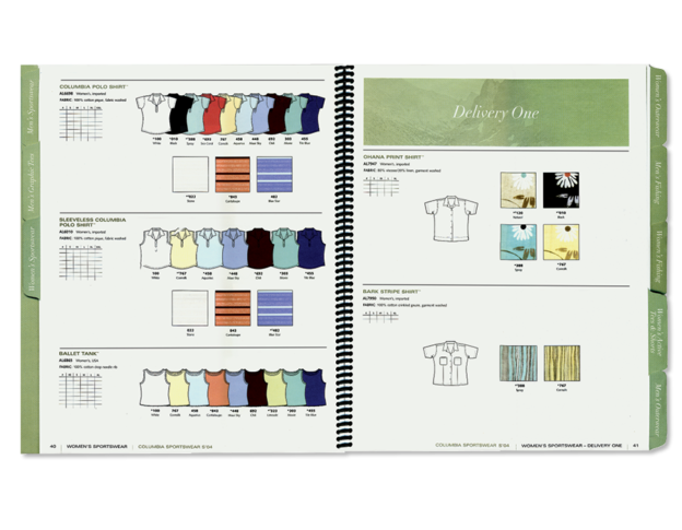 Apparel Catalog Production