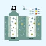 Floral Bottle Design
